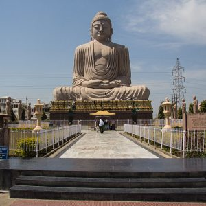Great Buddha Statue at Bodh Gaya