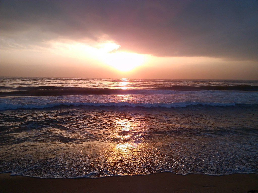 Sunset On Elliot's Beach, Chennai
