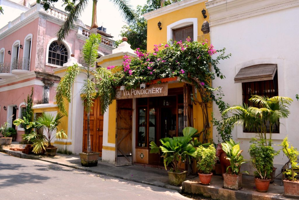 cafe in Pondicherry